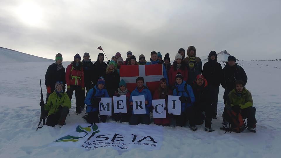 Les première S à l'ISETA s'intéresse au Climat en Norvège