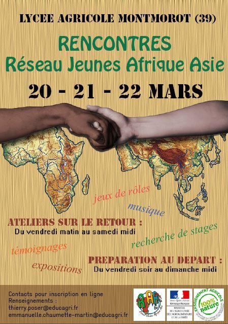 Inscrivez vous aux rencontres du RJAA 2015