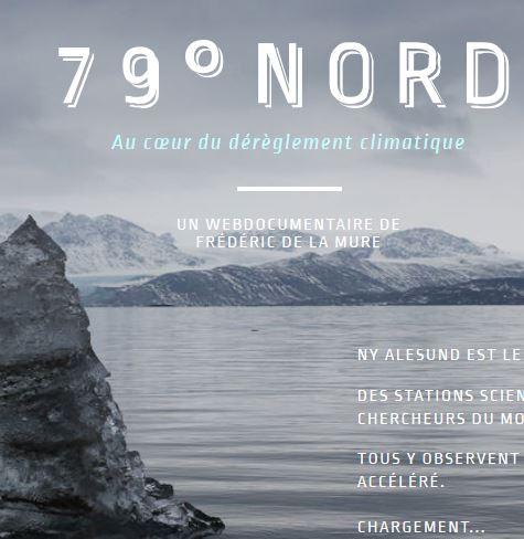 79° Nord, au cœur du réchauffement climatique