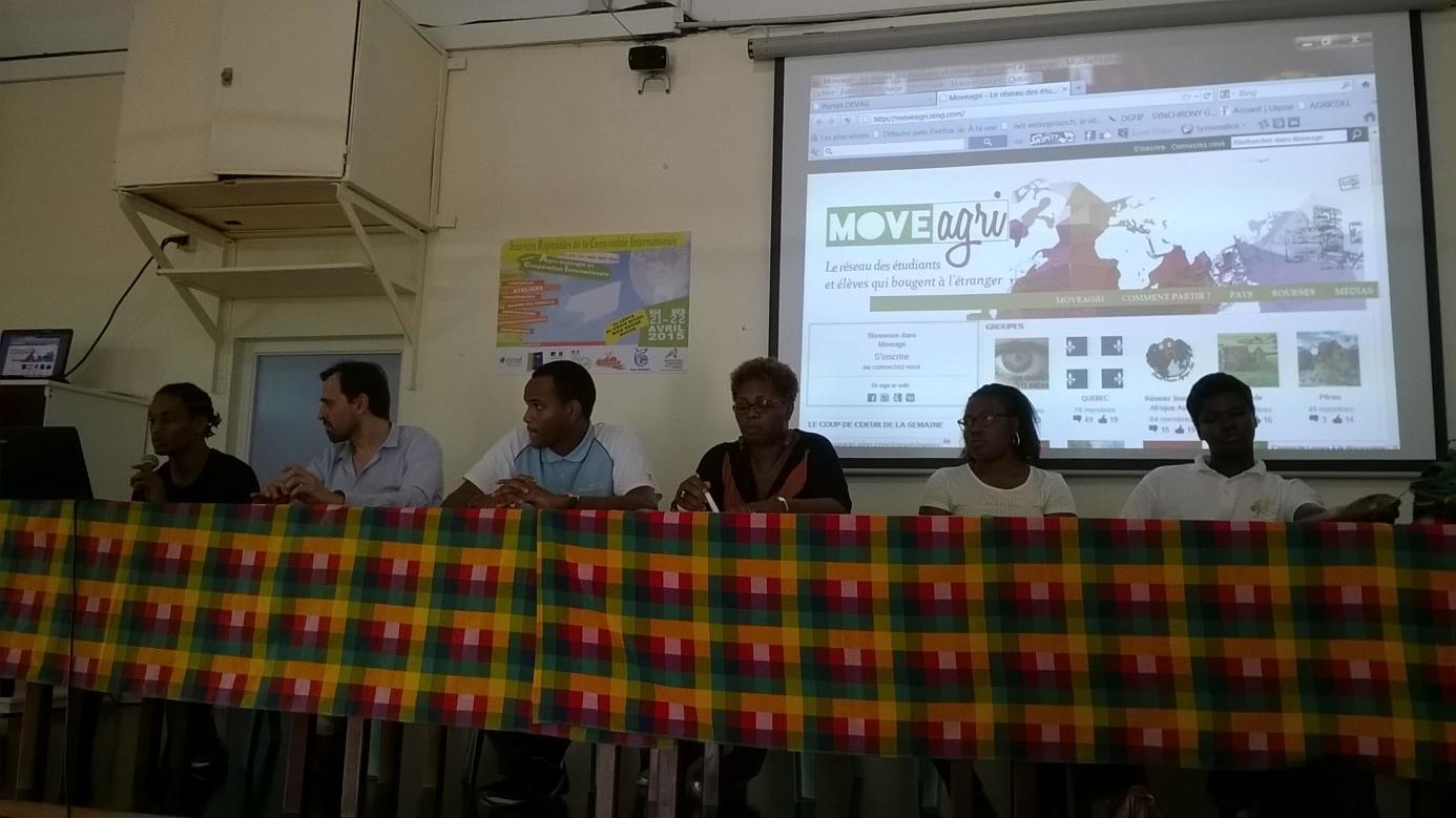 Les Journées régionales coop en Martinique