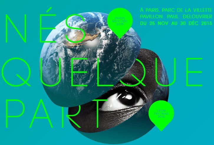 """Expo interactive """"Nés quelque part"""" par l'AFD"""