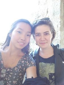 Ceyda et Qing, les deux nouvelles volontaires européennes du Tarn sont arrivées