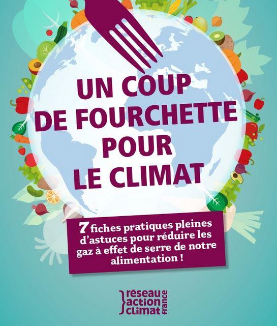 Un coup de fourchette pour le climat
