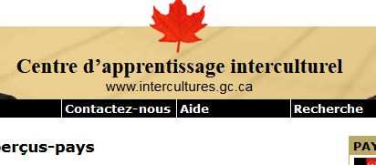 Le centre d'apprentissage interculturel du Canada