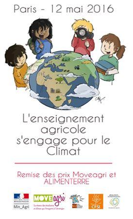 Revivez la Journée de valorisation des actions en faveur du Climat + Remise des prix ALIMENTERRE et MOVEAGRI - 12 mai - Paris