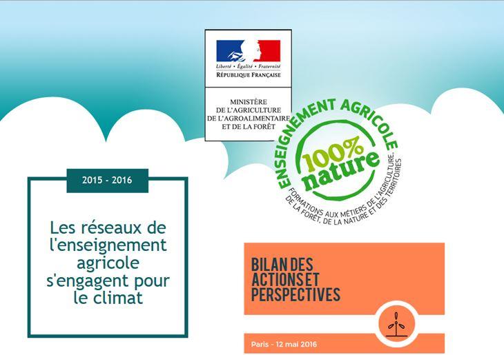 Support de présentation des réseaux de l'enseignement agricole