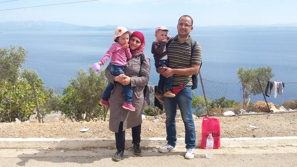 Le périple d'une famille syrienne réfugiée en Europe