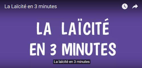 La laïcité en 3 minutes