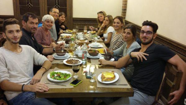 Projet Arménie avec l'enseignement agricole de PACA