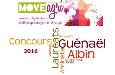 Guénaël, Albin, Aminata ... découvrez les lauréats 2016 du Concours blog et photo Moveagri
