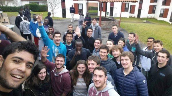 Rencontre entre des étudiants de BTS Acse et des réfugiés