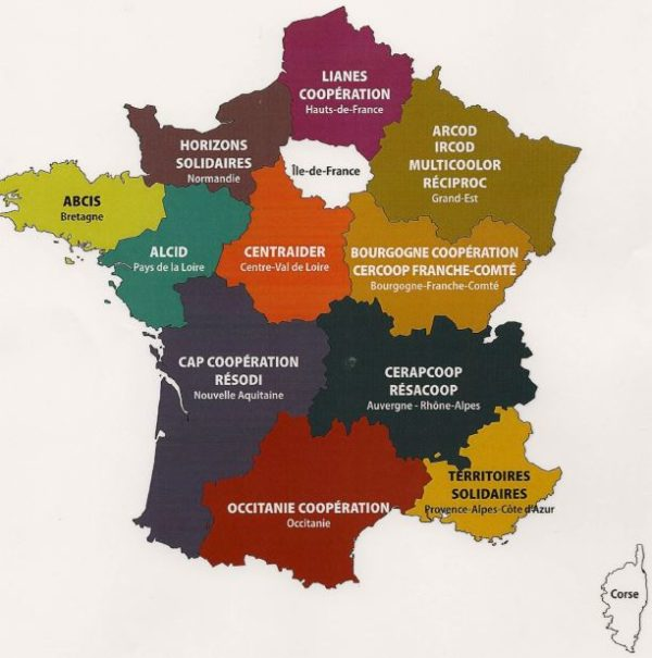 Les réseaux multiacteurs régionaux, des catalyseurs de projets à l'international
