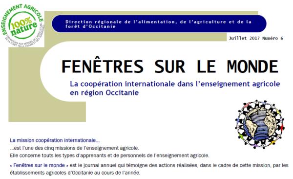 Découvrez les riches actions à l'international des lycées agricoles d'Occitanie