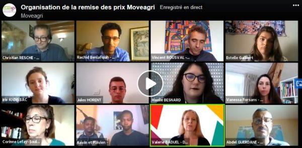Revisionnez le Facebook Live - Remise des prix Moveagri et témoignages des jeunes de l'enseignement agricole sur leur expérience pro à l'étranger